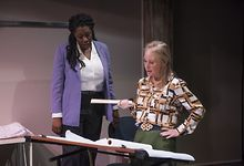 THEATER-REVIEW-What-Were-Up-Against-