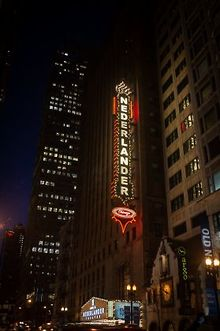 Nederlander-Theatre-lights-marquee