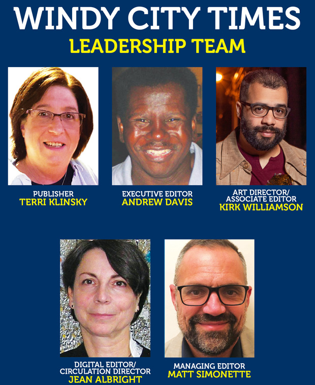 The Windy City Media Group leadership team