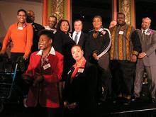 CBLG, Chef Tania, DJ Sheron Webb in Hall of Fame