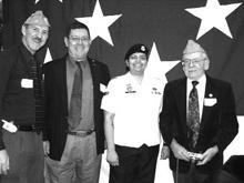 Lt. Col. challenging DADT speaks to AVER's Veteran's Day dinner.