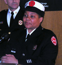A historic first: CFD expected to promote first female Battalion Chief