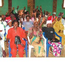 Rwandan Women: Being Positive