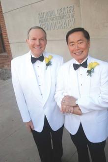 George Takei weds longtime love