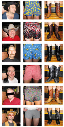 Intermission: PHOTO QUIZBoys, Boots, 'n' Boxers