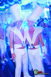White Party in Palm Springs, California.