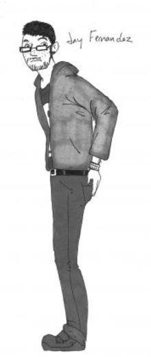 Jay Fernandez, artist