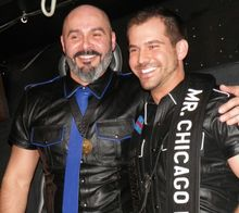 Nick Zuko is Mr. Chicago Leather 2013