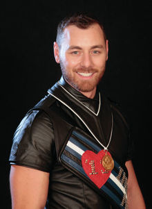 FAREWELL Andy Cross, International Mr. Leather 2013