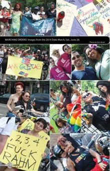 2014 Dyke March in photos