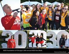 AIDS Foundation of Chicago's 30th annual AIDS Run/Walk.