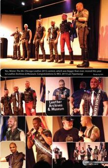 Mr. Chicago Leather 2015 contest