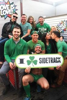 St. Pat's weekend at Sidetrack