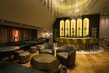 SAVOR Esquire Champagne Room; Honey Butter Fried Chicken