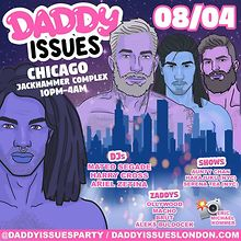 Daddy Issues party event at Jackhammer Complex Aug. 4