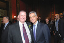 Rahm Emanuel. Photo for Windy City Times from Caroline Weisser. Rahm Emanuel (right) with Gary Chichester at this year's Gay and Lesbian Hall of Fame ceremony. Photo by Hal Baim