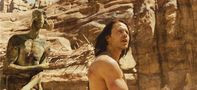 Taylor Kitsch portrays the title character in the upcoming film John Carter. Photo fromDisneyEnterprises,Inc.