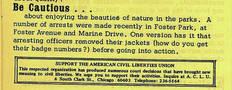 Mattachine Midwest newsletter October 1968.