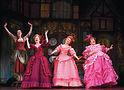 Beth Glover (center) in Cinderella. Photo by Carol Rosegg
