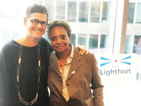 Amy Eshleman : She became one when lori lightfoot swore her.