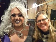 Trans women and drag queens mingle at Campit Resort