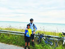 Father-12-year-old-son-take-part-in-Ride-for-AIDS-Chicago