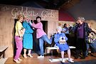 (left to right) Grant Drager, Ed Jones, Casey Coppess, Ryan Oates and David Cerda in Hell in a Handbag Productions' hit parody THE GOLDEN GIRLS: The Lost Episodes, Vol. 3. Photo by Rick Aguilar Studios.