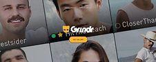 Grindr website. Screen shot