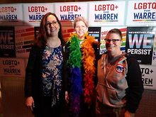 Candace-Gingrich-endorses-Warren-at-LGBTQ-event