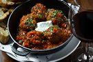 Lamb meatballs. Photo by Galdones Photography