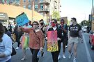 On the march at the Drag March for Justice. Photos by Vern Hester
