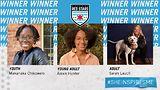 Sarah Lauch, Alexis Hunter, Makanaka Chikowero, 2020 award winners