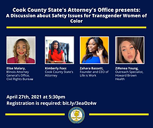 Cook County State's Attorney to present panel on transgender women of color, safety