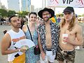 Attendees at Pride in the Park 2019. Photo by Jerry Nunn
