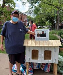 Little-library-honoring-John-Pennycuff-is-unveiled