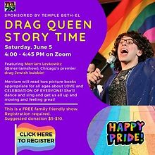 Temple-Beth-El-to-offer-Drag-Queen-Story-Time-on-June-5