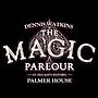 Dennis' Watkins The Magic Parlour logo.