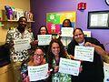 Erie Family Health Centers' Lending Hands for Life team. Courtesy of Erie Family Health Centers