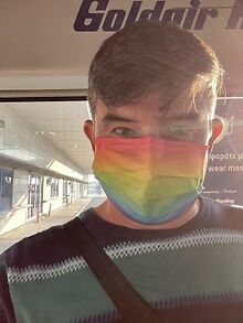 Passenger-claims-rainbow-mask-was-banned-airline-responds