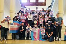 Texans-protest-anti-trans-youth-measures-at-capitol-in-Austin