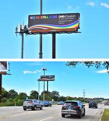 LGBTQ-group-OneWheaton-puts-up-billboard